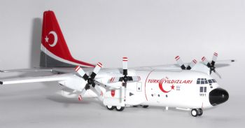 Lockheed C-130 Turkish Air Force Inflight 200 Diecast Collectors Model Scale 1:200 IF1300816 E